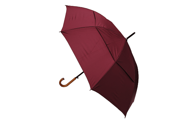 Collar and cuffs windproof city umbrella
